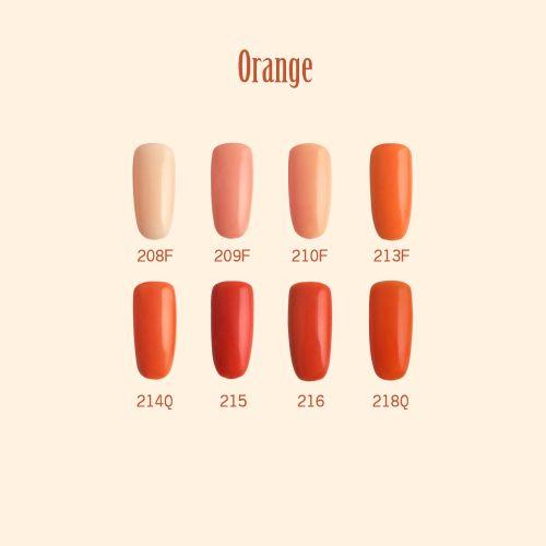 C+-光撩甲油膠8ml-Orange-2