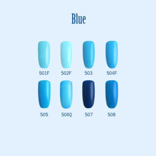 C+-光撩甲油膠8ml-Blue-1