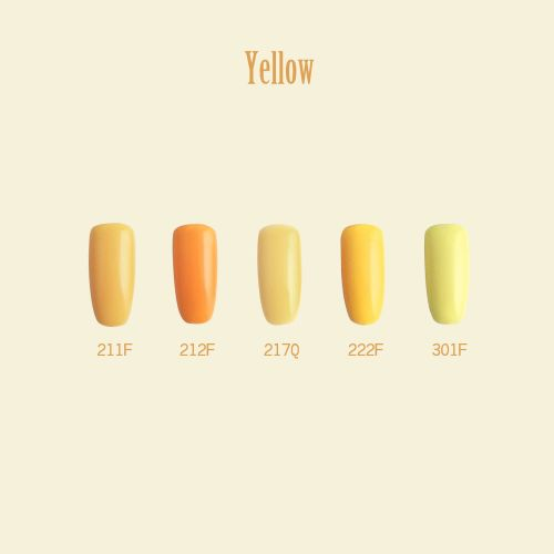 C+-光撩甲油膠8ml-Yellow