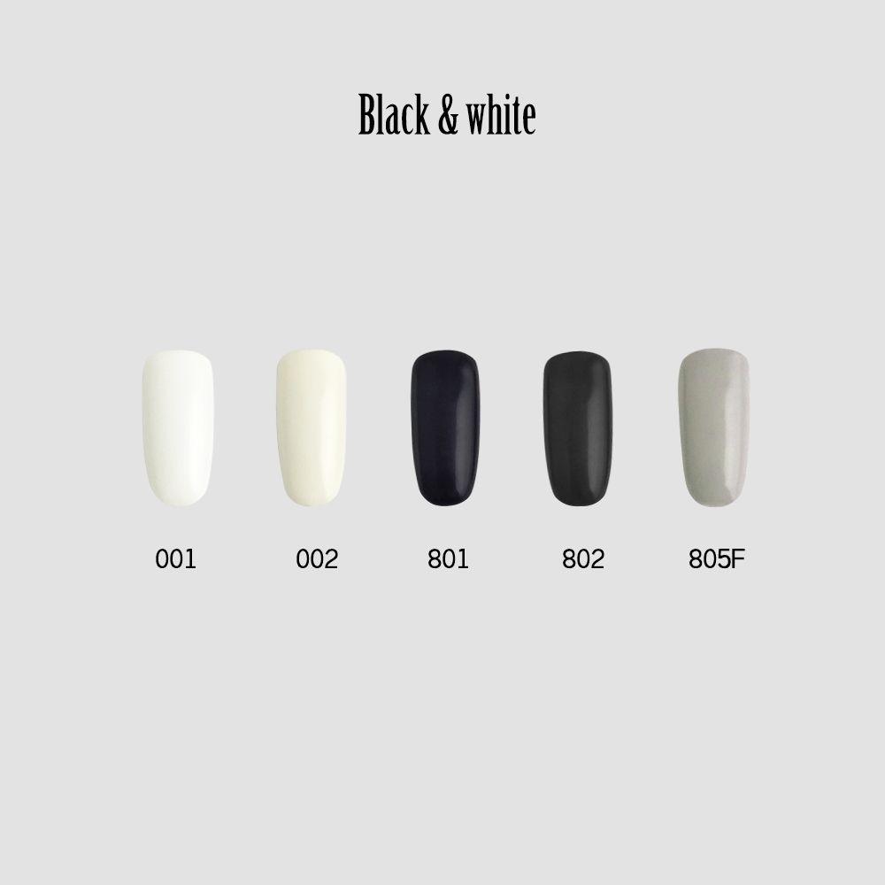 C+-光撩甲油膠8ml-Black & White