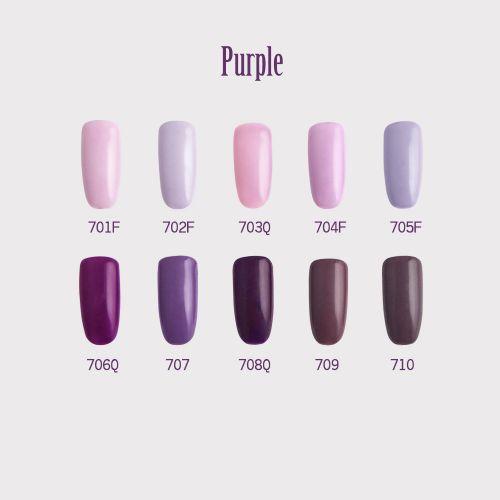 C+-光撩甲油膠8ml-Purple