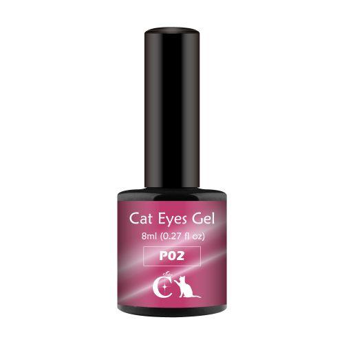 粉紅貓眼膠8ml-P02